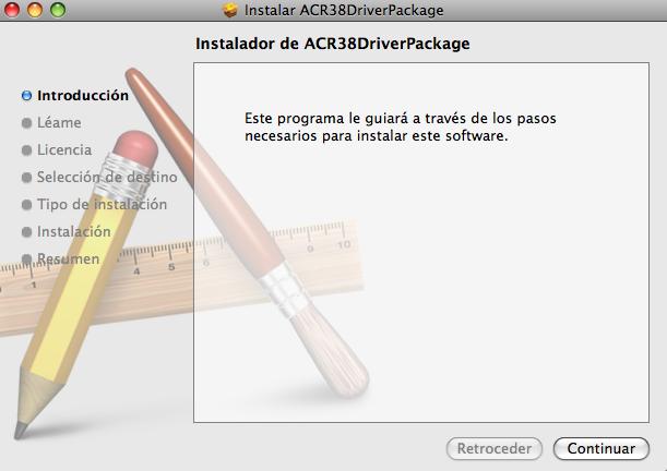 Instalación driver Bit4Id MacOS
