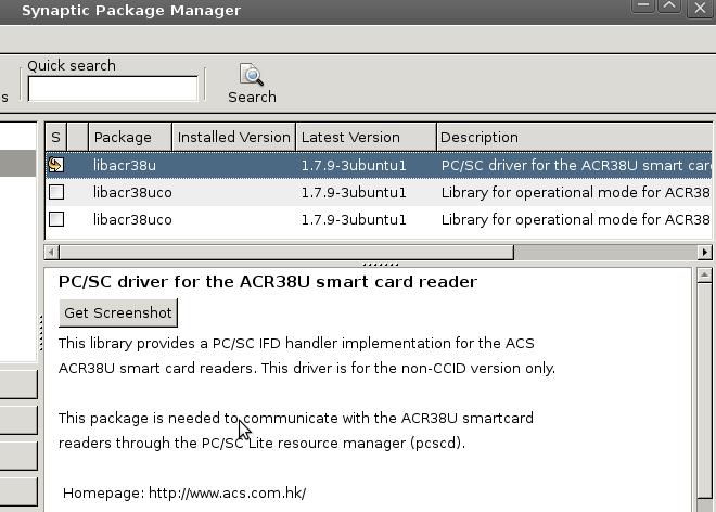 Instalar lector driver bit4id ubuntu
