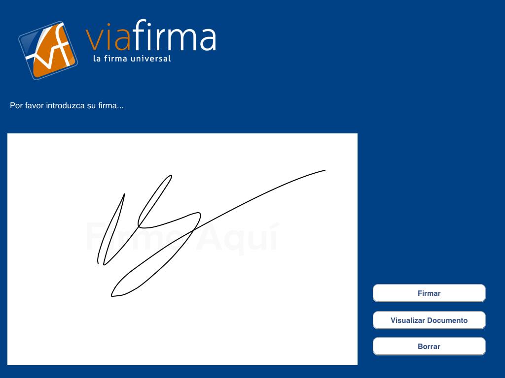 Firma digitalizada