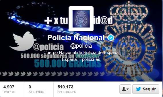 Twitter policia