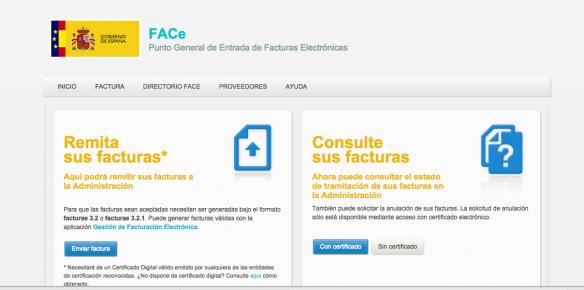 portal FACe