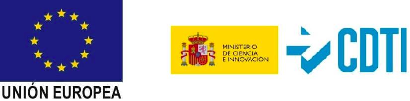 Logos de la UE y del CDTI