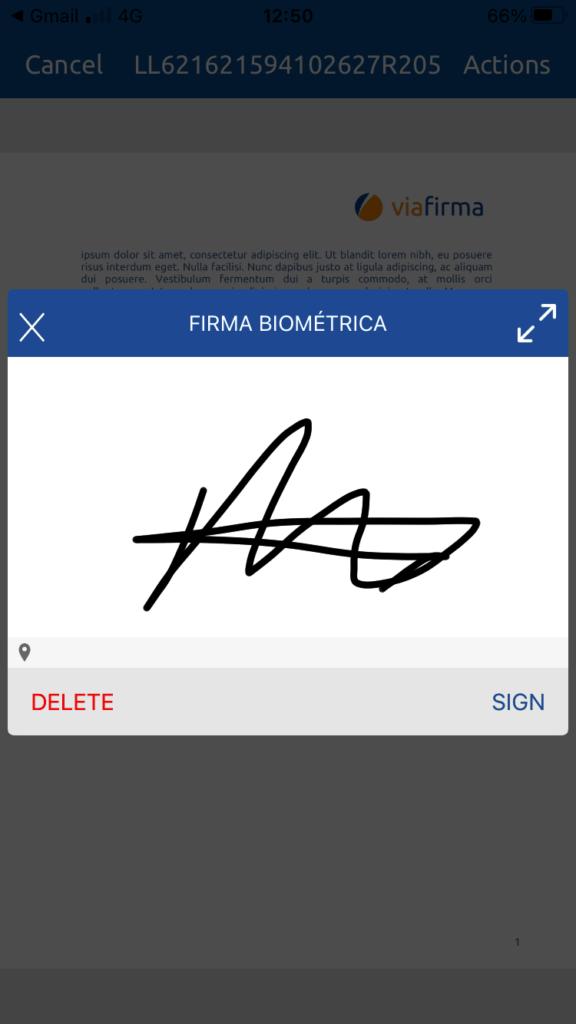 Firma electrónica móvil sin certificado digital