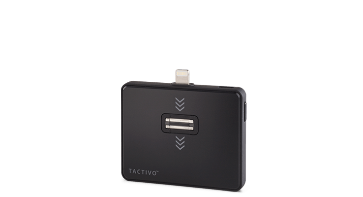 Tactivo device to capture fingerprints, supported by Viafirma