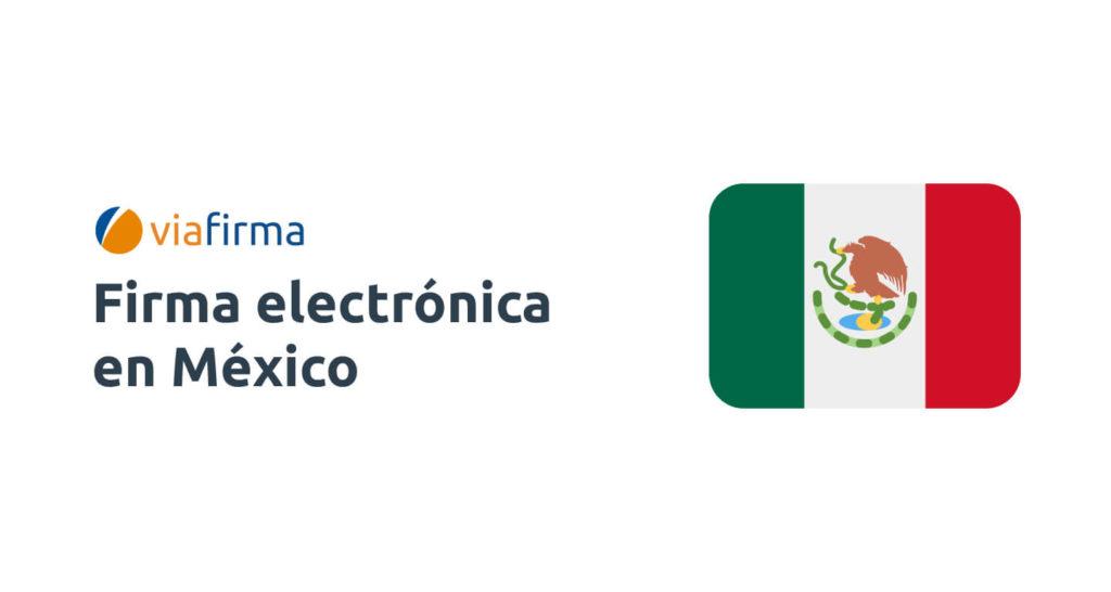 Firma electrónica en México
