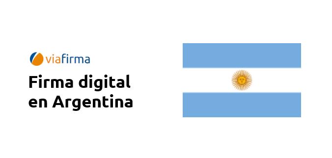 Firma Digital para Argentina con Viafirma.