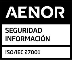 Logo aenor 27001