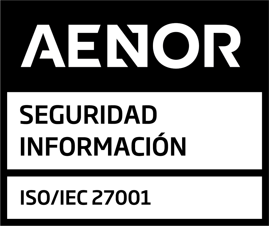 Sello AENOR 27001