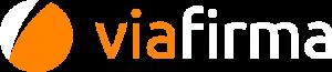 Logo de Viafirma Invertido