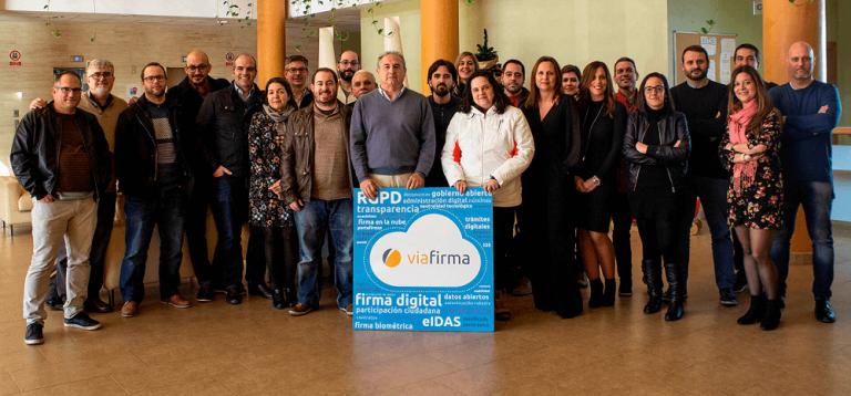 Foto equipo Viafirma 2019