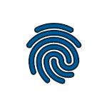 Logo huella dactilar