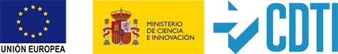 Logo Unión Europea + CDTI