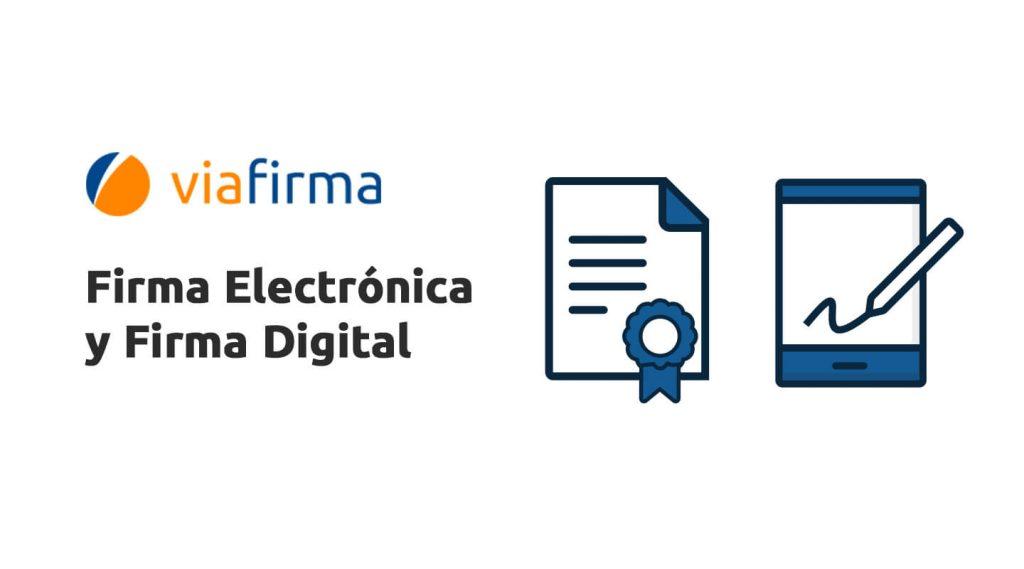 Diferencias de la firma electrónica y firma digital