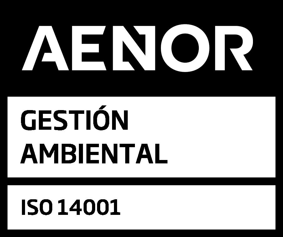 Logo de Aenor 14001