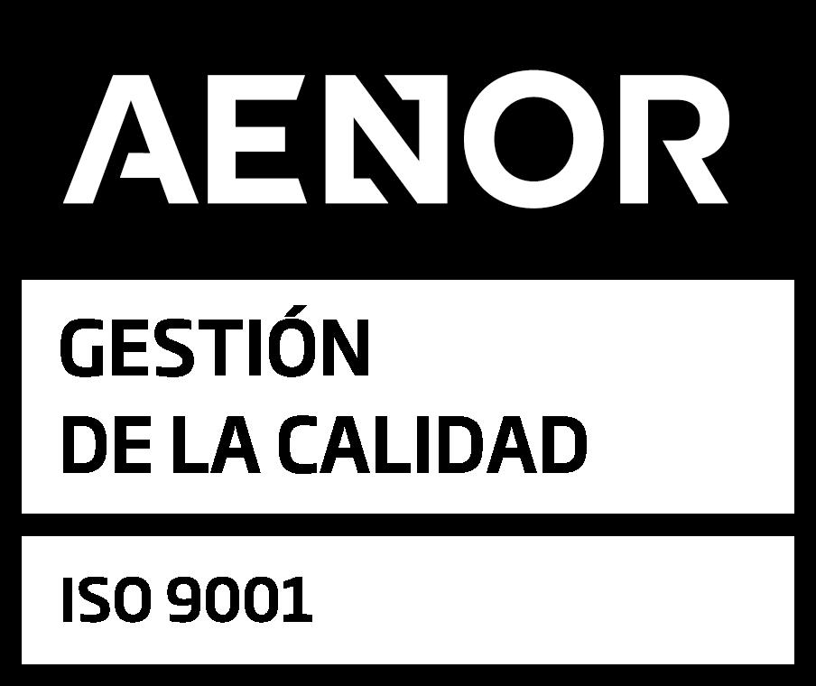 Logo de Aenor 9001